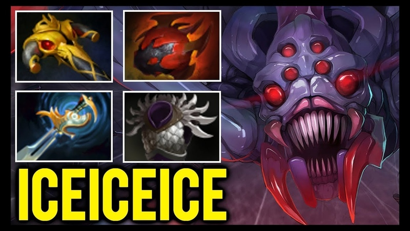 Iceiceice Broodmother Offlane - Tanky Meme Build