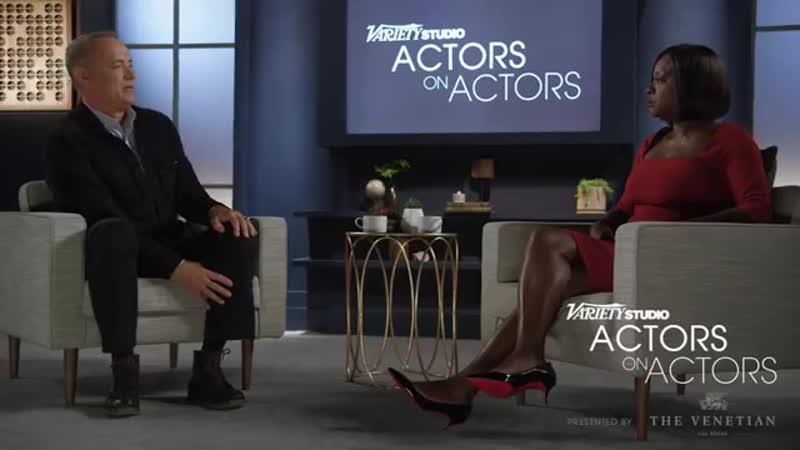 Tom Hanks Viola Davis Actors on Actors