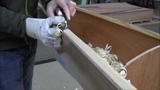 Bau eines Holzkajaks. Lektion 14 Die Balkweger hobeln