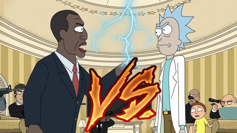 Best of Rick and Morty VS President S3 E10