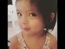 Моя доча Сладкая!! Большеглазая...
