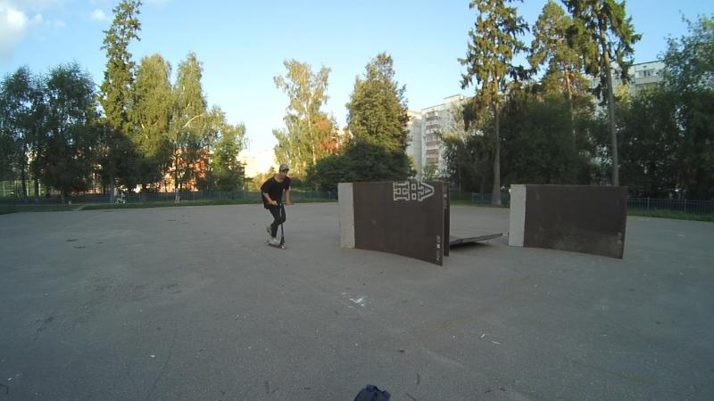 Саша Шевченко, экс-скейтпарк Юбилейного