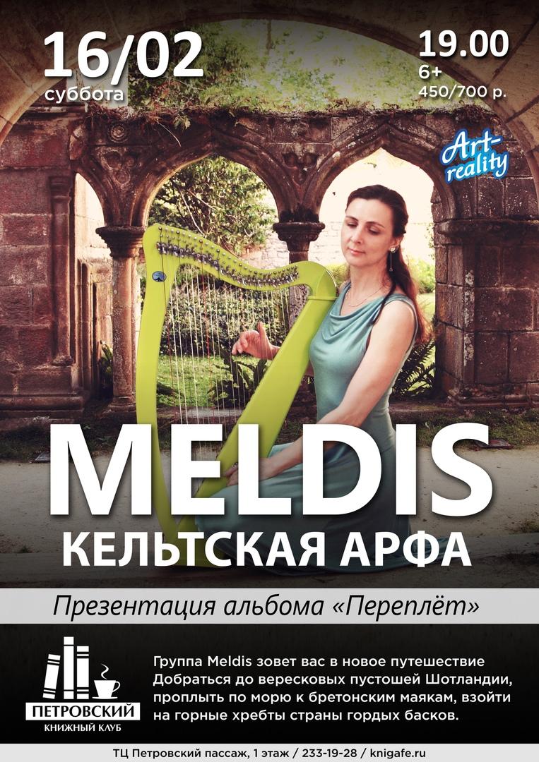 Афиша 16.02 MELDIS / Кельтская арфа в Петровском