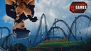 Настоящие Американские горки в виртуальной реальности. Epic Roller Coasters