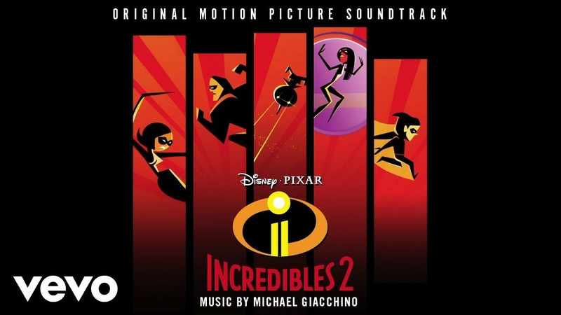 Michael Giacchino - World's Worst Babysitters (From Incredibles 2/Audio Only)