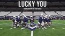 Eminem - Lucky You | Choreography by The Kinjaz (Dallas Cowboys Rehearsal)