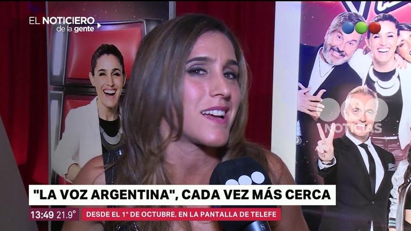 La voz argentina cada vez más cerca - El noticiero de la gente