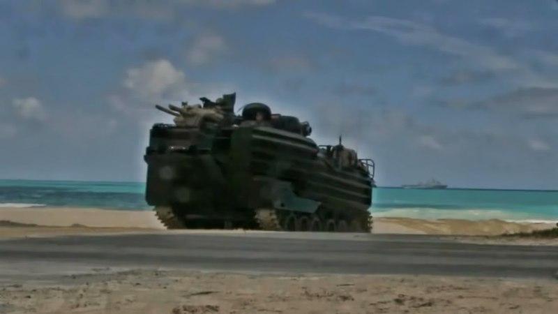 15th Marine Expeditionary Unit • Amphibious Landing Hawaii