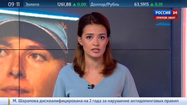 Новости на Россия 24 Будь сильной американцы переживают за Шарапову