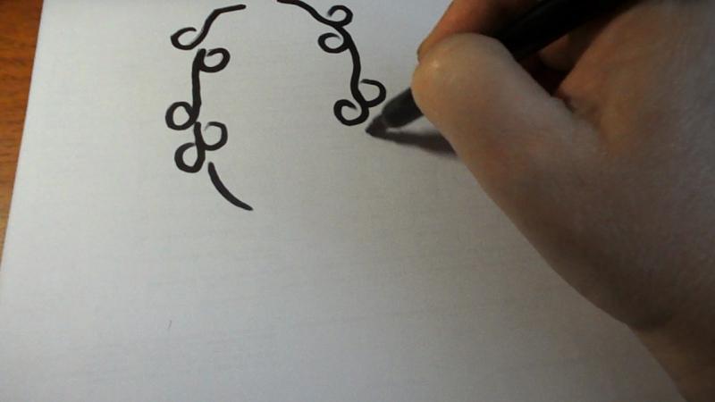 Рисунок к ожерелью