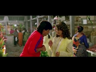 Scene- Dil To Pagal Hai - Pagal Hai - Shah Rukh Khan - Madhuri Dixit