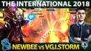 MOST EPIC Chinese Invoker - SCCC Invoker Player Perspective - Perfect Gameplay Dota 2 TI8
