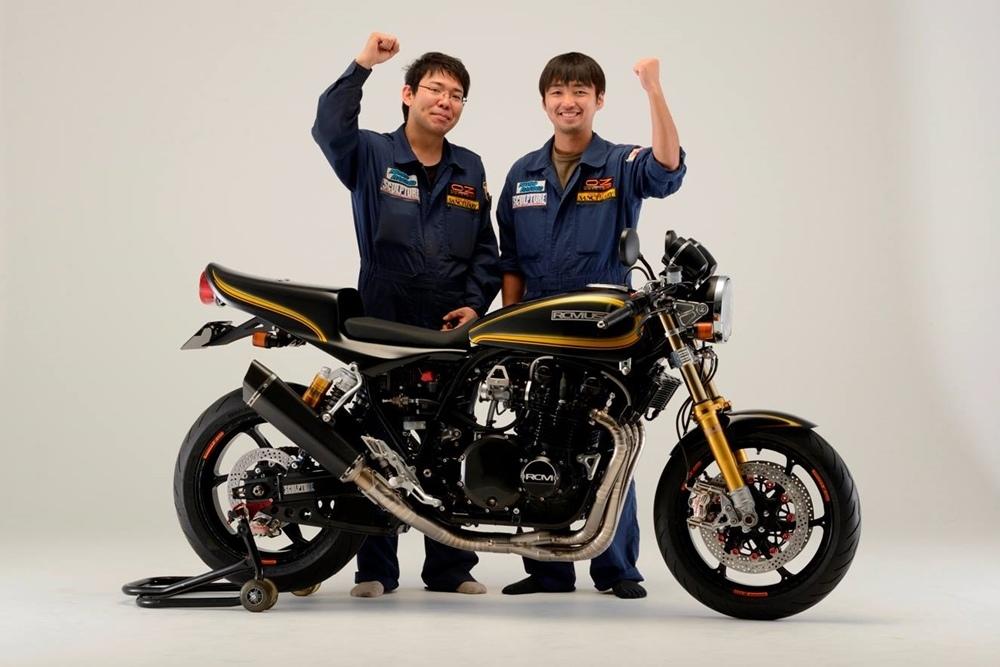 Кастом AC Sanctuary A16-004 на базе Kawasaki Z1