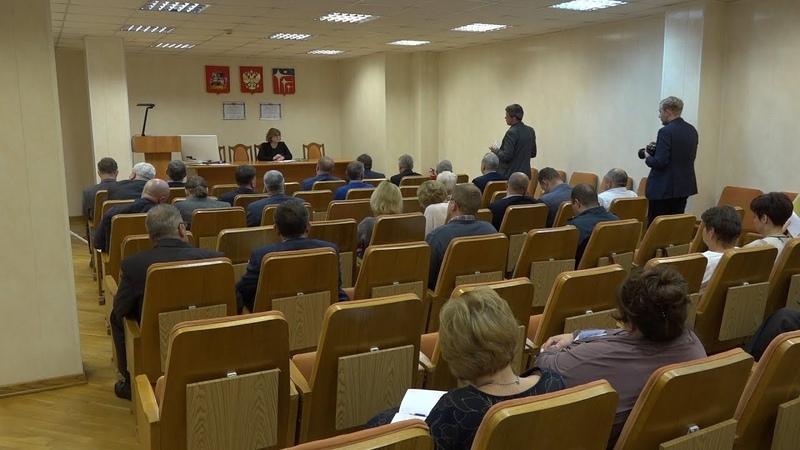 Плановое совещание руководителей структурных подразделений города от 14.01.19 г