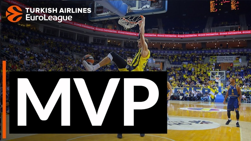 Turkish Airlines EuroLeague Regular Season Round 1 MVP Jan Vesely, Fenerbahce Istanbul