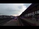 Ретро-поезд ездит по России