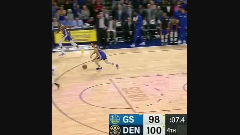 The game-clinching block and defensive rotation to finish off the Warriors.