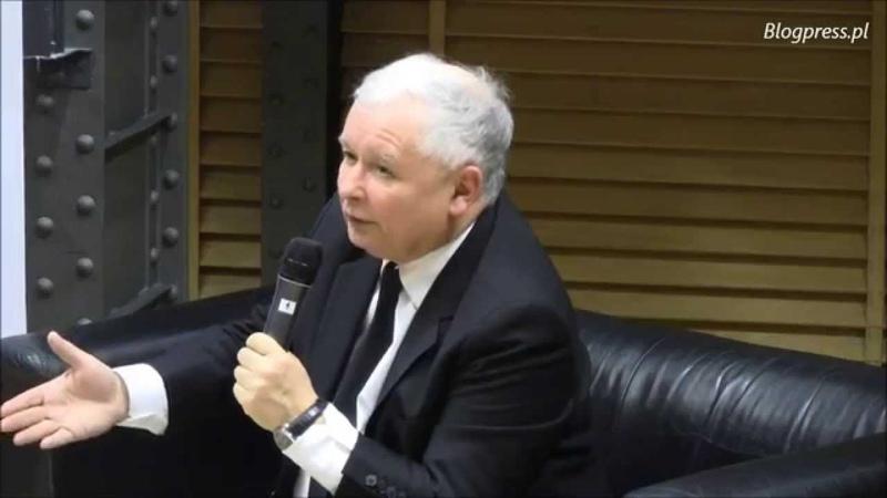 Jarosław Kaczyński ze studentami Uniwersytetu Warszawskiego (1.12.2014)