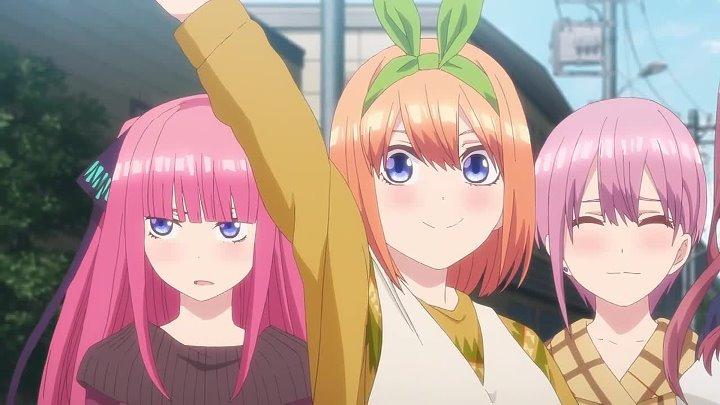 Gotoubun no Hanayome (Go-Toubun) / Пять Невест - 9 серия [Озвучка: Oni Yupi (AniMaunt)]
