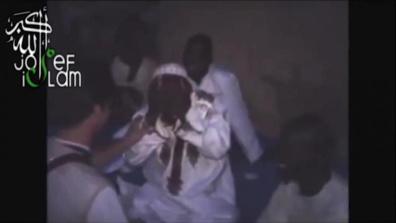Африканцы первый раз увидели белого мусульманина
