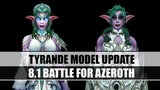 8.1 Battle for Azeroth. Tyrande Model Update [OLD vs. NEW]