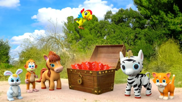 Animals Characters 3d Animation Promotional Video