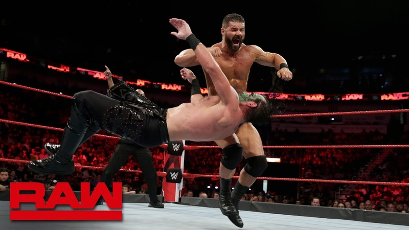 Chad Gable Bobby Roode vs The Ascension Raw Sept 10 2018