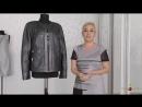 Красивый Перешив кожаного пиджака _Запорожье_ Как сделать шикарный жакет из кожаного пиджака
