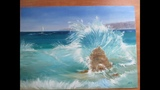 Прозрачная волна (поэтапно) 2 часть
