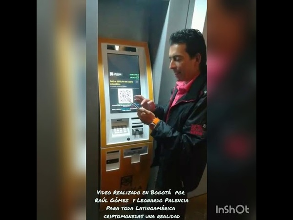 Cajero Bitcoin Bogota Colombia, Criptomonedas una Realidad