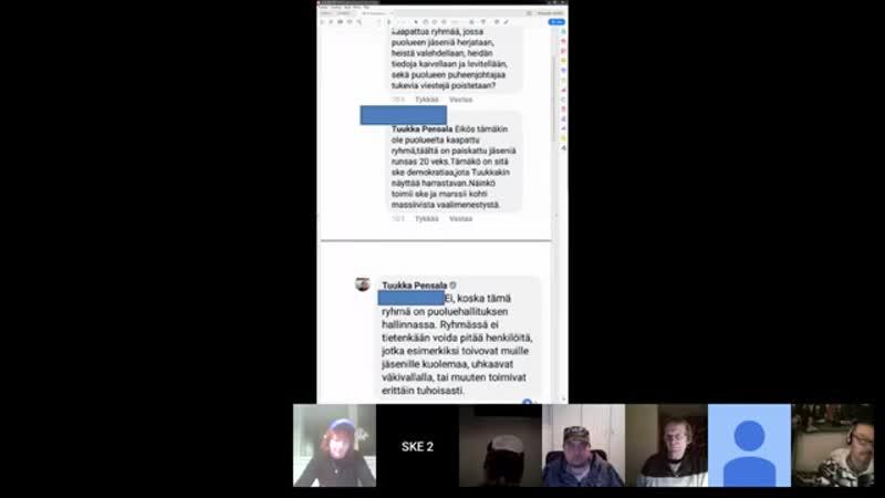 14.01.2019 SKE 2 MaanantaiSKE_ Vakainkaan laiva ei pysy pinnalla ilman kunnollista kipparia - YouTube (360p)