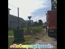 угол Рев Проспек и Мечетной город Пугачев уберают мусор
