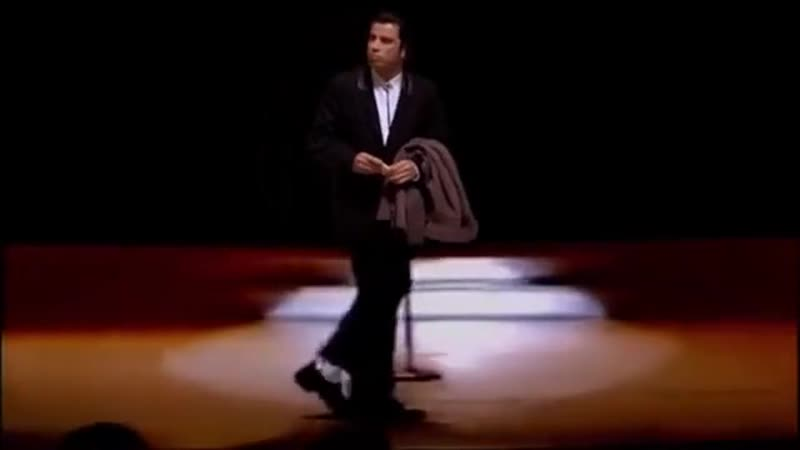 Moonwalking Travolta