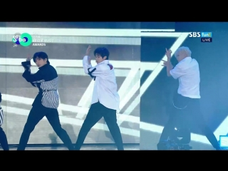 UNB - Black Heart @ 2018 Soribada Best K-Music Awards 180830