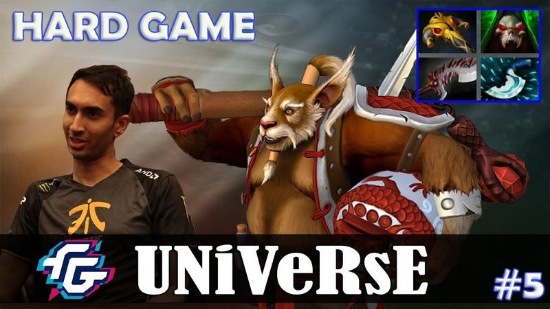 Universe - Brewmaster Safelane | HARD GAME | Dota 2 Pro MMR Gameplay 5