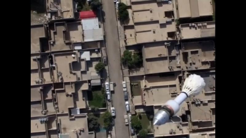 Бомбометание с квадрокоптера ИГИЛ. Террористы используют дроны для бесшумных бомбардировок.
