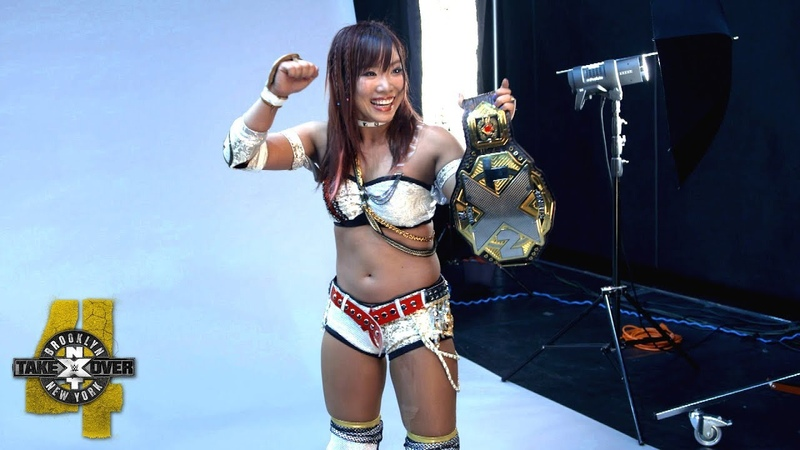 Kairi Sane is elated by her NXT Women's Title photo shoot: WWE Exclusive, Aug. 18, 2018