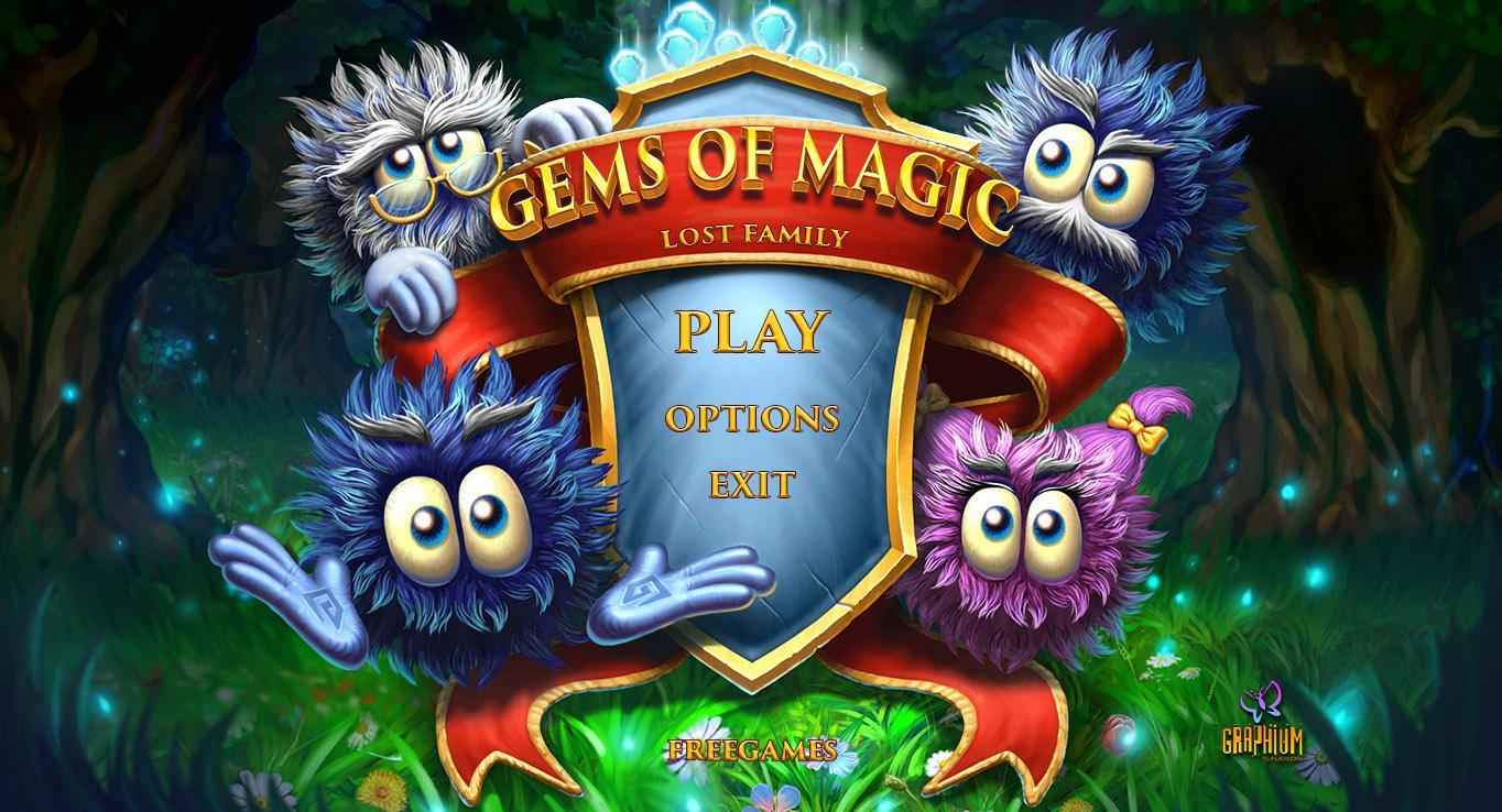 Камни магии: Потерянная семья | Gem's of Magic: Lost Family (Rus)