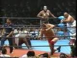 1991.06.01 - Giant BabaMasanobu FuchiRusher Kimura vs. Abdullah The ButcherGiant Kimala 1Giant Kimala 2
