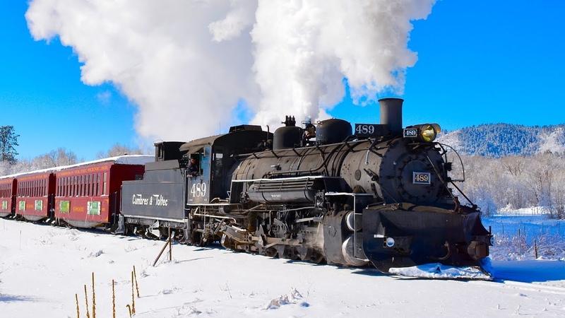 Winter STEAM TRAIN! Cumbres Toltec Scenic