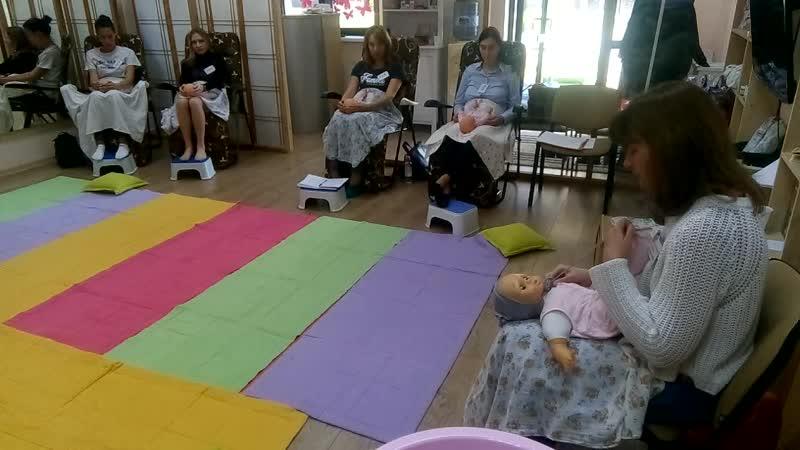 Уход за новорожденным - массаж