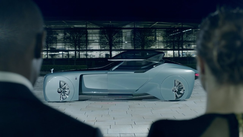 The visionary Rolls-Royce 103EX. Journey into the future of luxury.