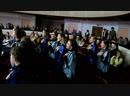 MVI_0884 - Хоры поют в зале во время работы жюри.