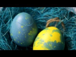 Как покрасить ЯЙЦА НА ПАСХУ🐣 Мраморные яйца 🐣