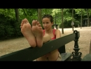 French girl feet