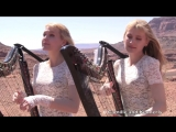 SCORPIONS - Send Me An Angel - Harp Twins (Camille and Kennerly) HARP ROCK_METAL