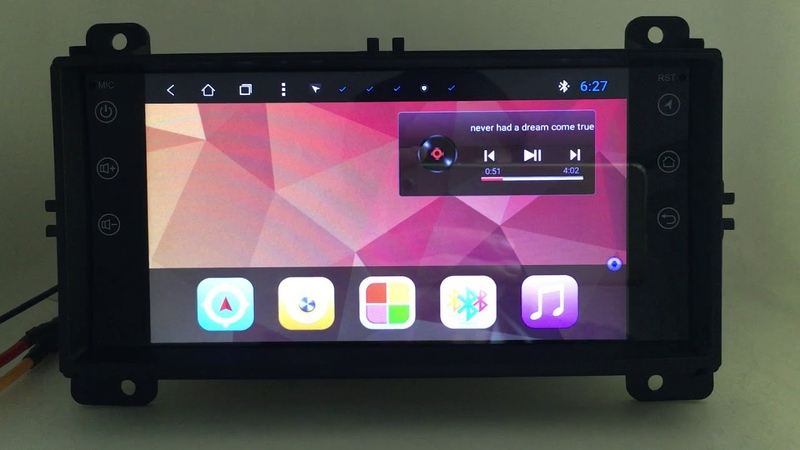 Android Car Multimedia Stereo DVD GPS Navigation Head Unit Jeep Cherokee 2008 2009 2010 2011 2012