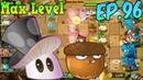 Plants vs Zombies 2 China Magic Mushroom Max 4 level Whirlwind Acorn Kung Fu Day 10 Ep 96