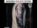 Супер реалистичные татуировки. 2 часть
