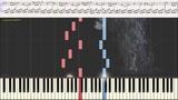Вальс дождя (Ноты и Видеоурок для фортепиано) (piano cover)